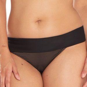 🎉SALE NWT Curvy Kate Onyx Fold Over Bikini Bottom